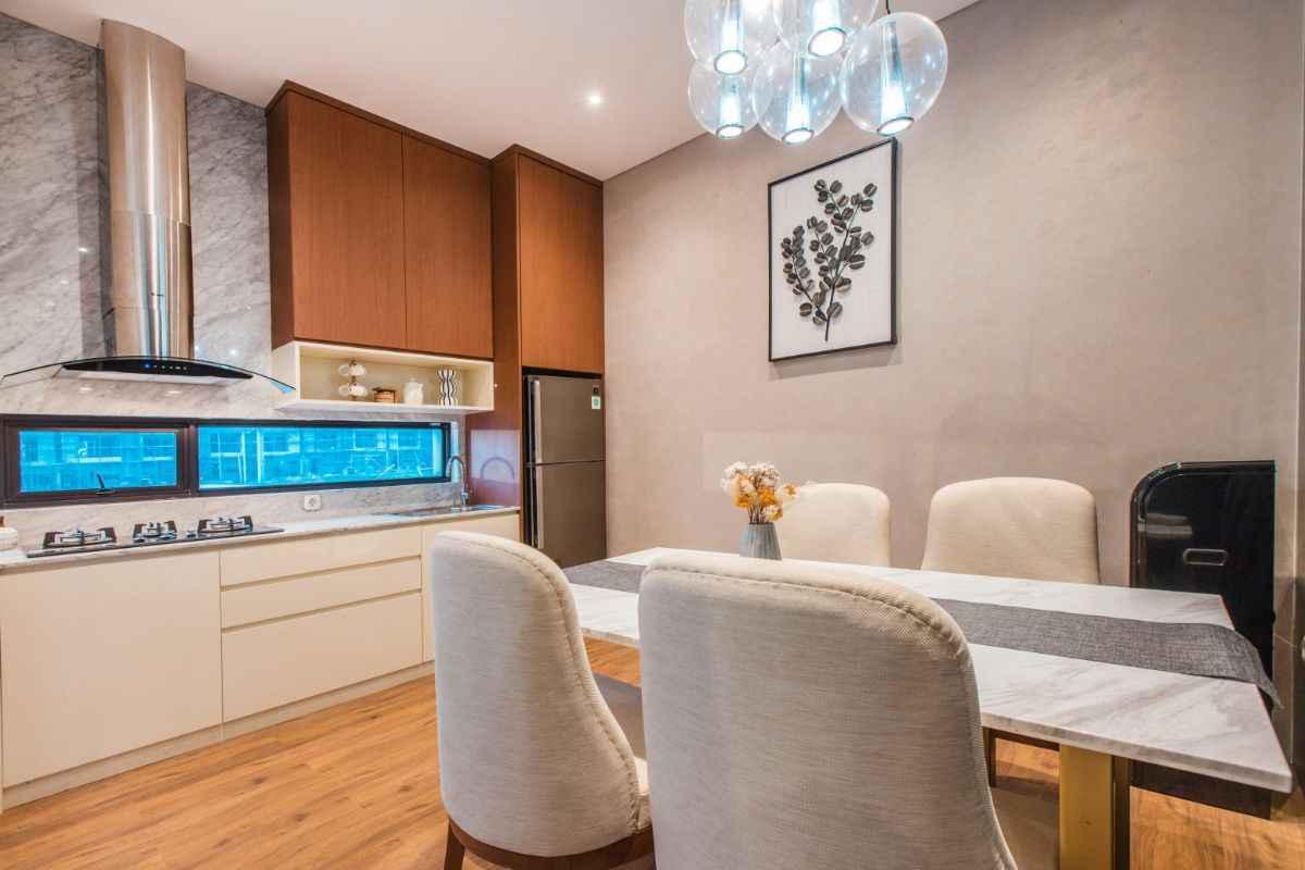 Interior Ruang Makan Modern
