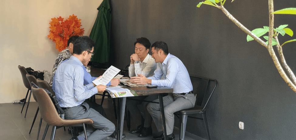 Kunjungan Dari Sumitomo Mitsui Banking Corporation Japan