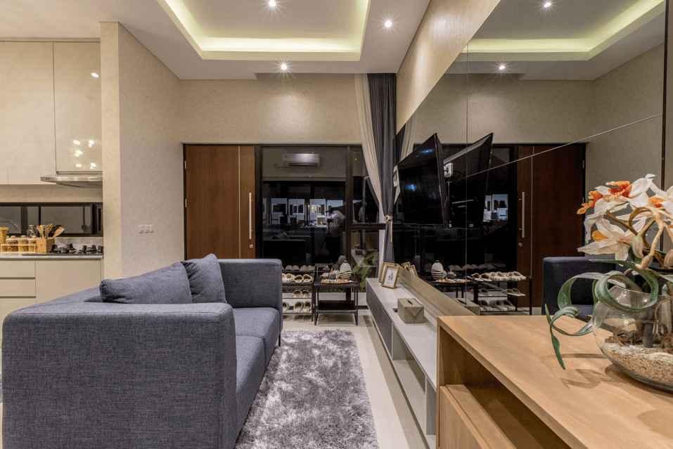 Desain Ruang Keluarga Konsep Minimalis